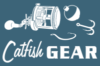 Catfish Gear White Home Page Logos