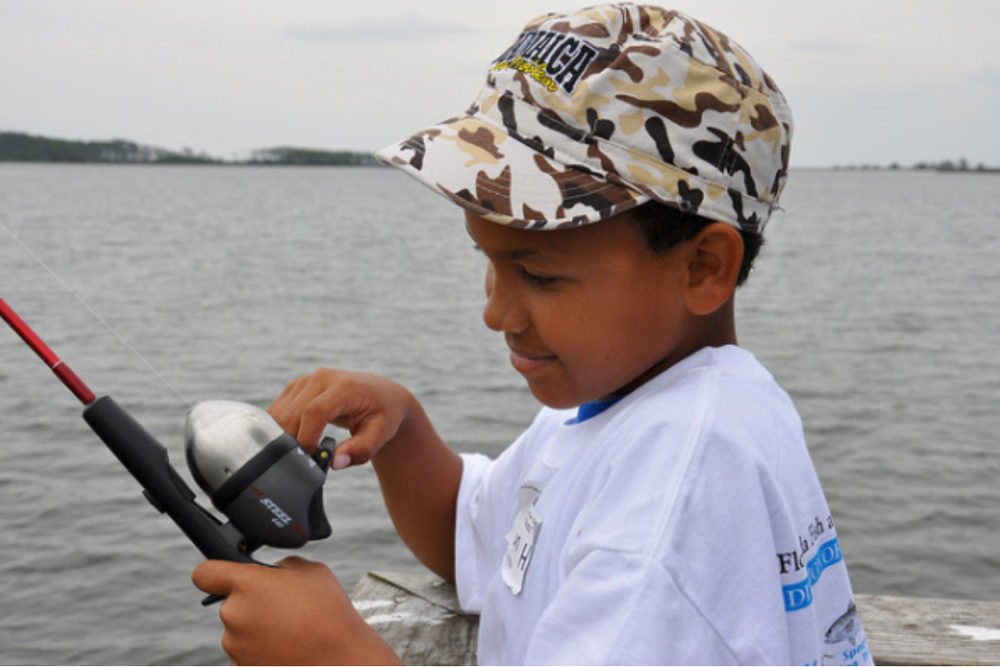 The smiles will measure the success of the adventure. (Florida FWC Photo)