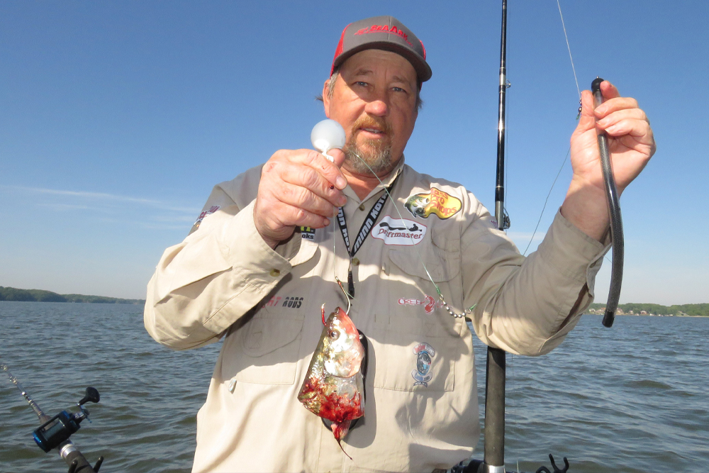 Larry Muse proved the worth of the Dragon Tail dragging weight with his research on Wilson Lake in Alabama.