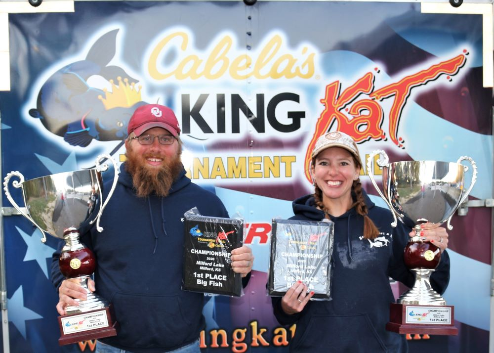 catfish, tournament, King Kat, Milford Lake, Eric Horton, Jordan Horton