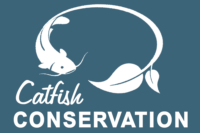 Catfish Conservation White Home Page Logos