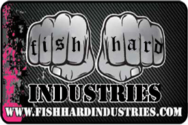 small banner for fish hard industries