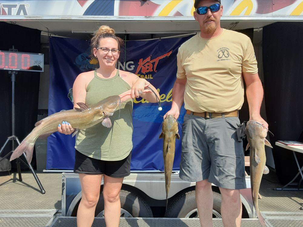 catfish, tournament, channel cat, Levi Sasse, Carlyle Lake