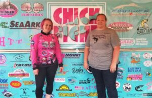 Ann White utilized her tournament directing experience to serve as co-director with Melinda Folsom in 2018 to produce the first all-women catfish tournament.