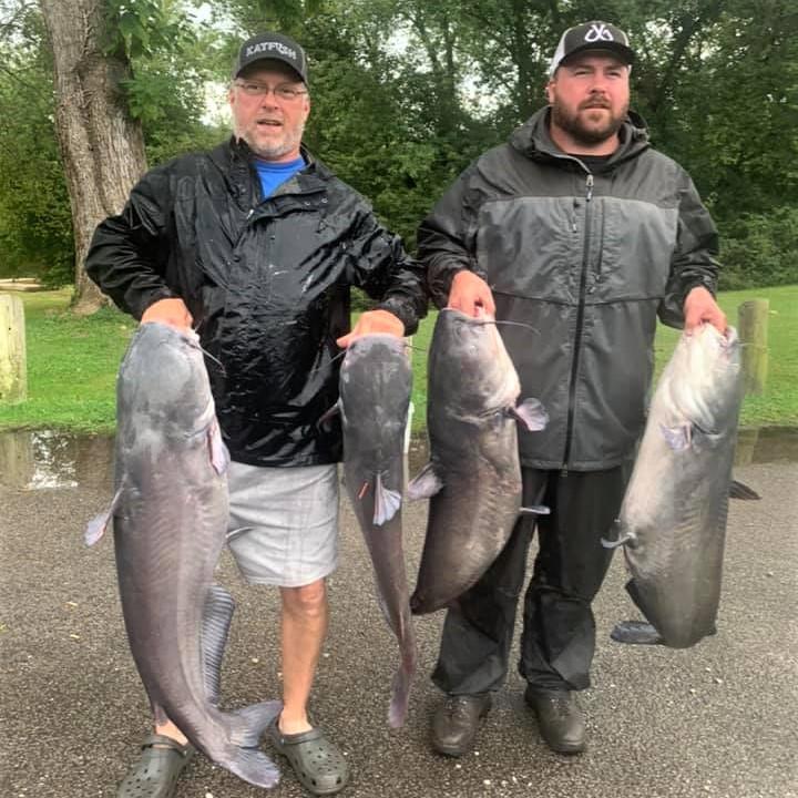 Kanawha River Catfish Club , catfish, tournament, flathead, blue cat, channel cat, Brian Antill, Josh Antill, championship