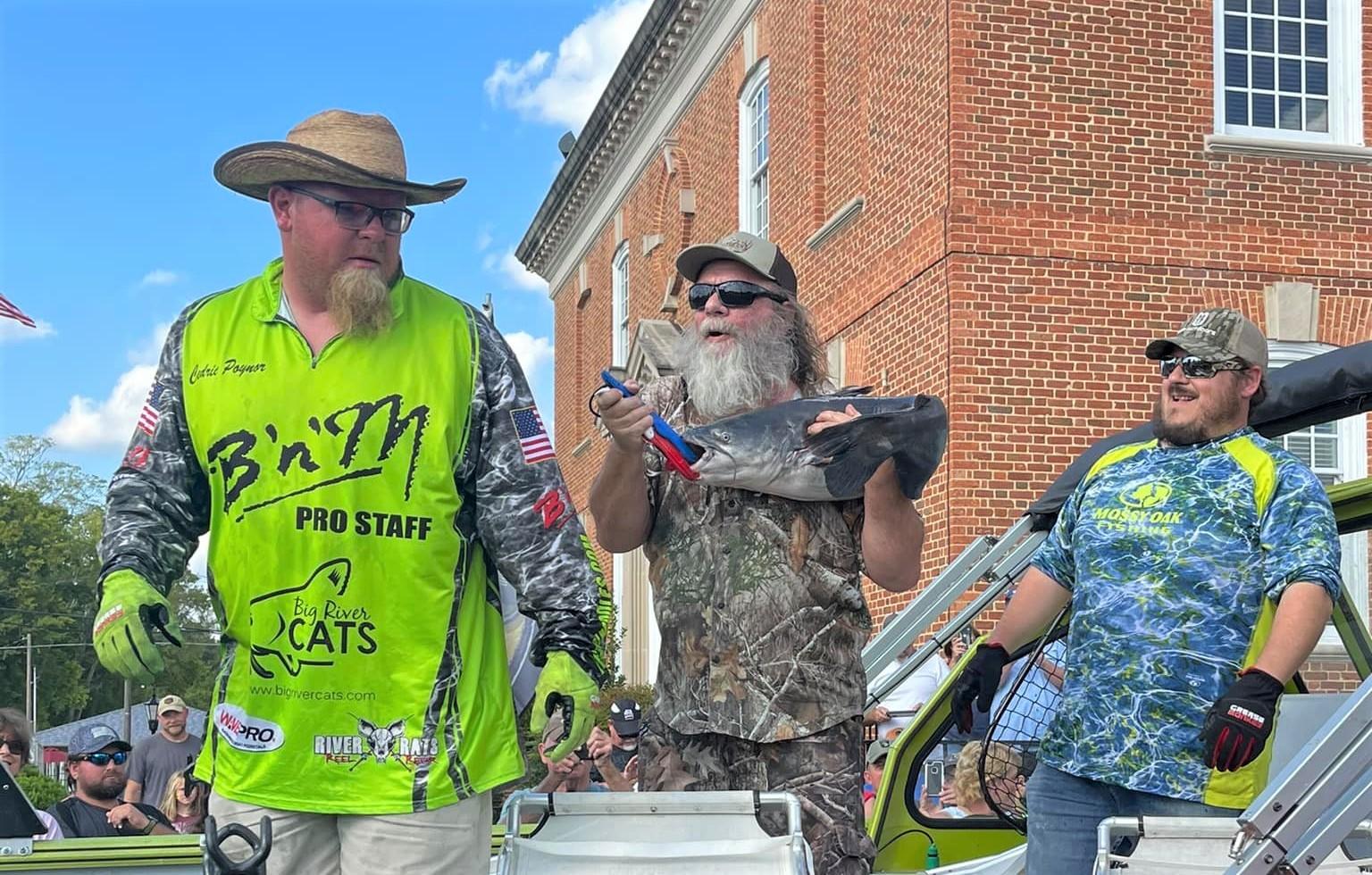 catfish, tournament, WCC, Savannah, Tennessee, blue cats, flatheads, fish care, skipjack, World Championship, Tennessee River, JR Sweat, Tennessee River Productions