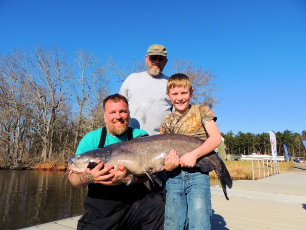 Conservation accomplished today will ensure trophy catfish for future generations.