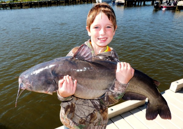 Big catfish produce memories that will last a lifetime.