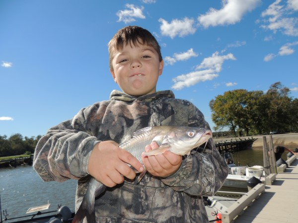 Give kids the opportunity to release the fish themselves when there is no danger to them doing so.