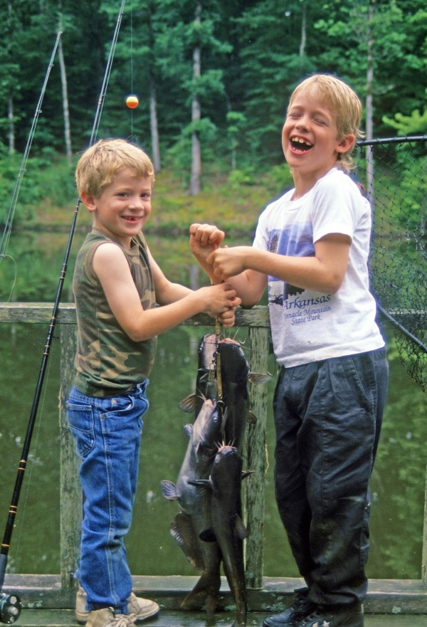 Even short catfishing trips near home can provide long-lasting memories of times spent together outdoors. (Keith Sutton Photo)