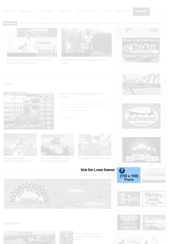 Side Bar Lower Ad Section