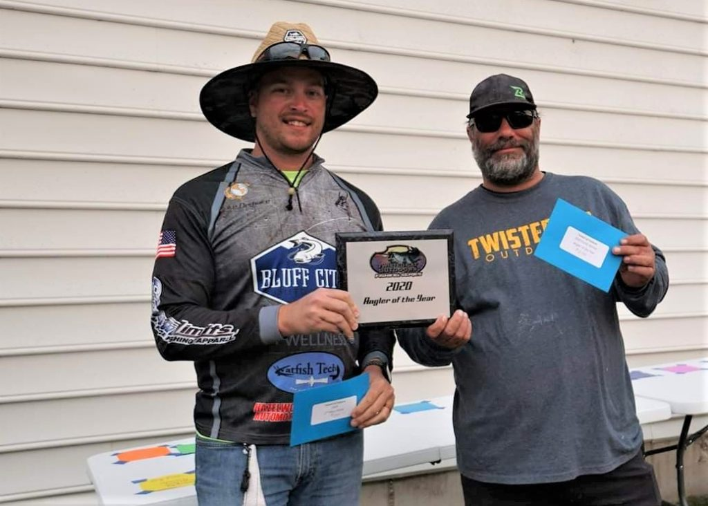 Catfish, tournament, blue cat, flathead, channel cat, Lake of the Ozarks, Robin's Resort, Twisted Cats Outdoors, Alex Nagy, Anthony Kulis, Jake Derhake, Points, Race, AOY, SeaArk, Boats